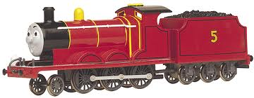 58743 James the Red Engine with moving eyes