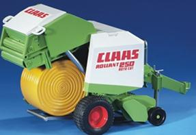 02121 CLAAS Rollant 250 Round Baler