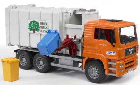 02761 MAN Side Loading Garbage Truck