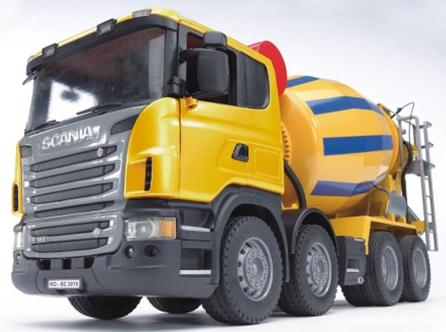 03554 Scania R Series Cement Mixer Truck