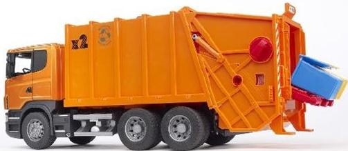 03560 Scania R Series Garbage Truck (Orange)