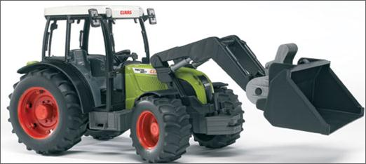 02111 Claas Nectis 267 F Tractor with Frontloader D