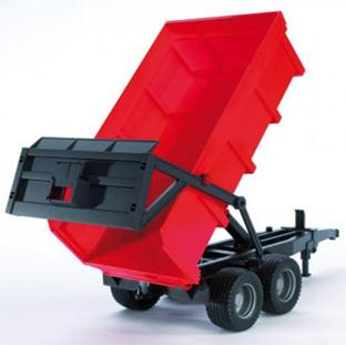 02211 Tipping Trailer Red D