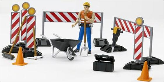 62000 B-world Construction Set with Man