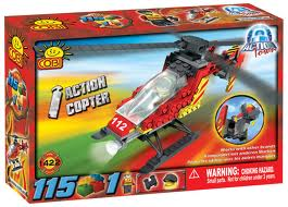 1422 Fire Helicopter Set