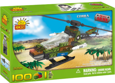 2218 Army Cobra Helicopter