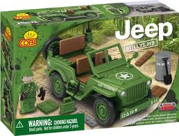 24110 Small Army Jeep Set