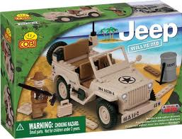 24111 Small Army Jeep Set