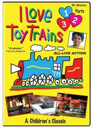 I Love Toy Trains parts 1, 2 & 3