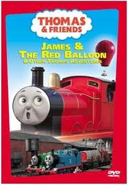 Thomas and Friends James and the Red Balloon DVD
