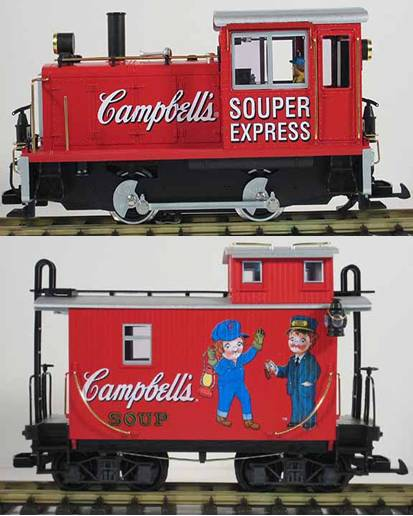 70630 Campbell's Souper Express Diesel & Caboose