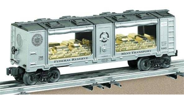 19686 Chicago Federal Reserve Mint Car