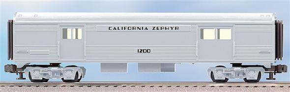 "25178 California Zephyr Streamliner ""Trainsounds"" Baggage"