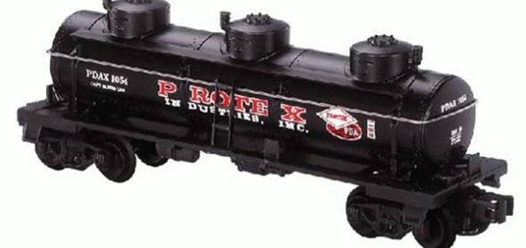 26119 Protex Industries 3 Dome Tank Car