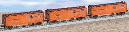 27372 PFE Pacific Fruit Express Steel Sided 3-pak