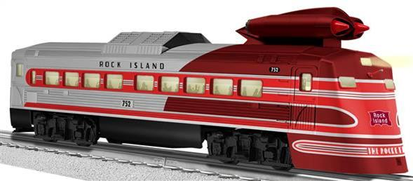 38425 Rock Island Jet-Powered Budd RDC (Conv. LOCO #752)