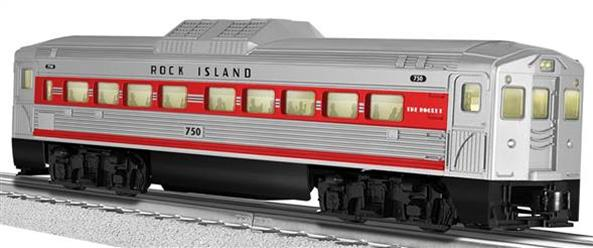 35498 Rock Island Non-Powered RDC Coach #750