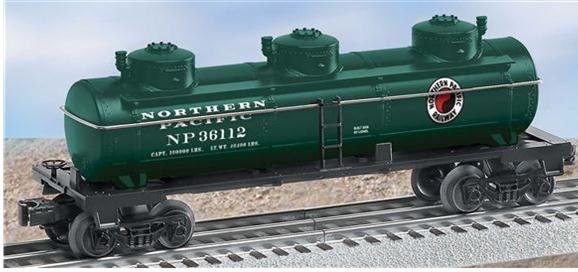 36112 Northern Pacific 3 Dome Tank Car
