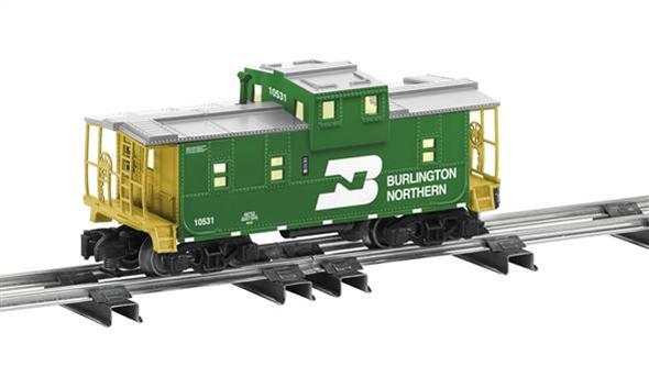 48752 Burlington Northern Extended Vision Caboose