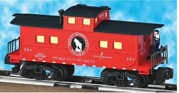 49017 Great Northern Animated Caboose