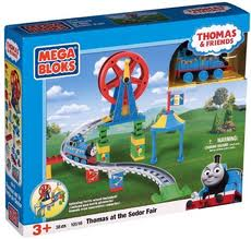 Thomas at the Sodor Fair 38 piece kit