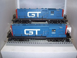 8353 / 8356 Grand Trunk GP-7 Powered & Dummy Units