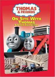 thomas and friends on site with thomas dvd 19 99 15 99