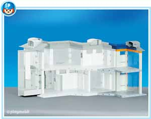 playmobil hospital extension