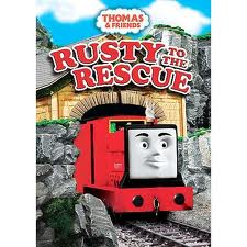 Thomas and Friends Rusty to the Rescue DVD