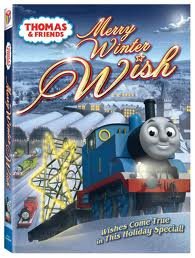 Thomas and Friends Merry Winter Wish DVD