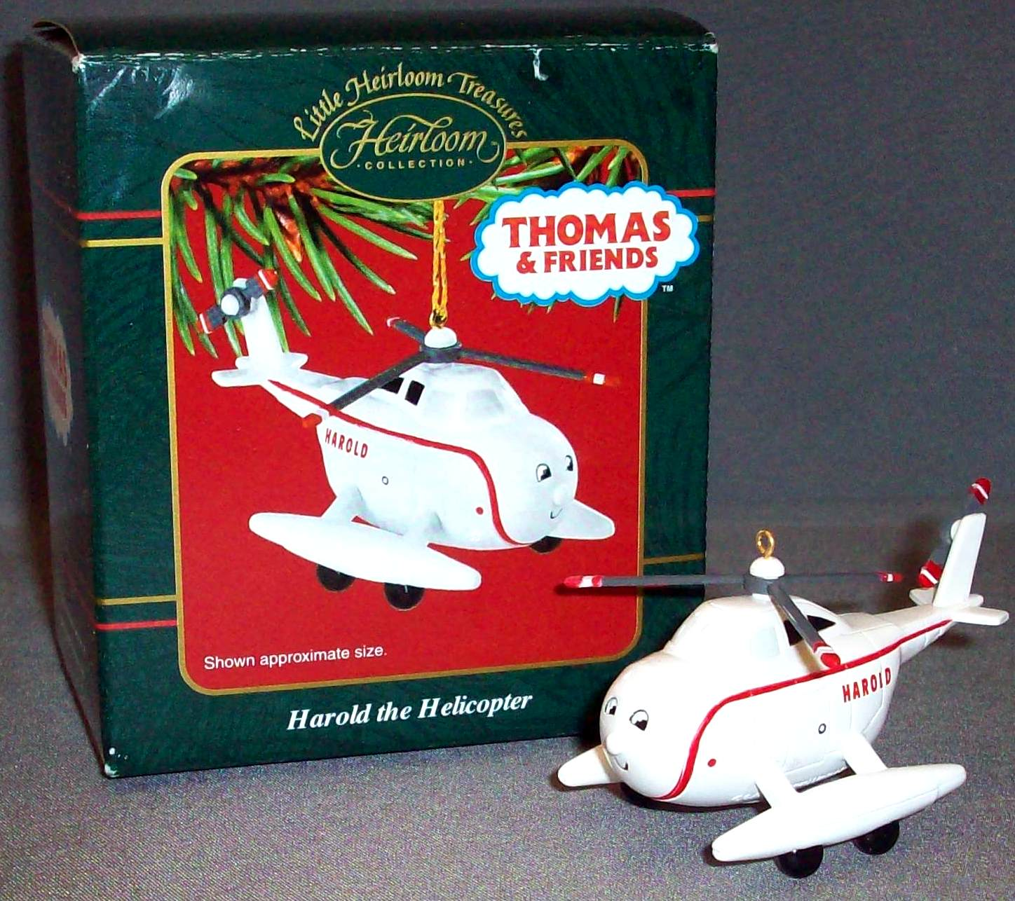 Thomas the train christmas ornament - Harold The Helicopter Ornament