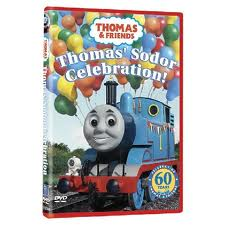 Thomas and Friends Thomas' Sodor Celebration DVD