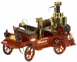D305 Steam Powered Fire Engine