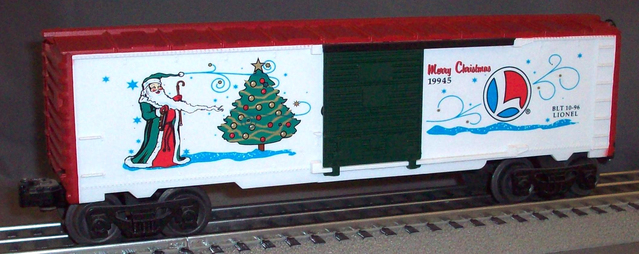 1996 O-Gauge Christmas Boxcar *** CLOSEOUT ***